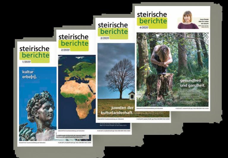 steirische berichte 2020, 4 Hefte